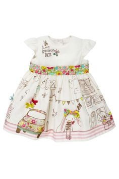 Buy Bunny Broidery Dress (0-18mths) from the Next UK online shop