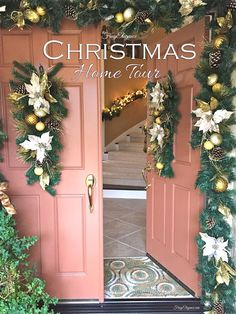 A Christmas Home Tour by FrugElegance- Come in & see our Frug-Elegant Christmas Home Decor! #ChristmasHomeTour #ChristmasHomeDecor