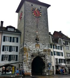 A Solo Travel Society member recommends visiting Solothurn, a walled medieval town in northwest Switzerland, which offers lots to see and do. Medieval Town, Historical Architecture, Solo Travel, Big Ben, Switzerland, Places Ive Been, Travel Inspiration, Gate, Travel Destinations