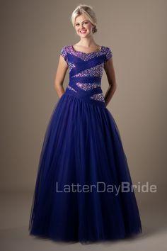 Modest Prom Dresses : Tiana