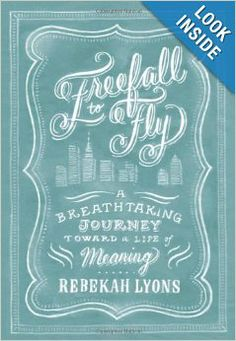 Freefall to Fly: A Breathtaking Journey Toward a Life of Meaning by Rebekah Lyons