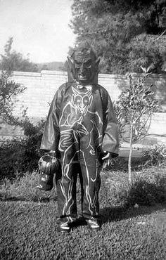 Vintage Halloween costume.