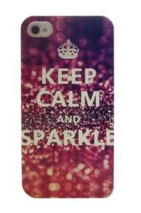 usd15/Image of  keep calm shimmering powder iphone case for 4/4s/5