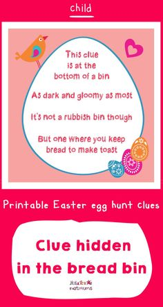 Looking for inspiration for Easter egg hunt clues? We've got some great ones that will take your kids on an exciting trail to find the ultmate prize of . Easter Scavenger Hunt, Scavenger Hunt Clues, Christmas Scavenger Hunt, Scavenger Hunts, Easter Egg Hunt Clues, Easter Eggs, Board Game Geek, Board Games, 21st Birthday Checklist