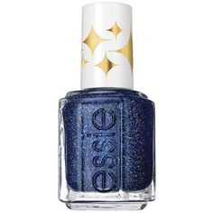 essie Retro Revival Nail Polish (11 CAD) ❤ liked on Polyvore featuring beauty products, nail care, nail polish, blue, essie, essie nail color and essie nail polish