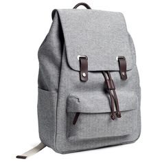 "My dream backpack with padded laptop sleeve for 15"" Macbook. The Reverse-Denim Snap Backpack – Everlane $65"