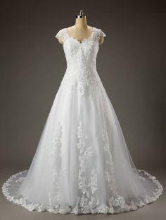 lace wedding dress !