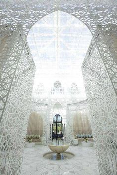 The Hotel Royal Mansour, Marrakesh, Morocco.