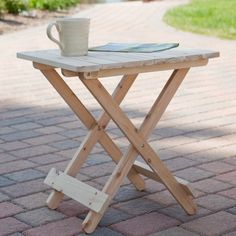 Need this too!  Coral Coast Adirondack Table - Unfinished $34.98