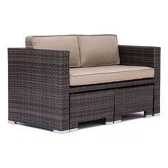 Deep Water Loveseat Dining Set Brown by Zuo Modern 703065