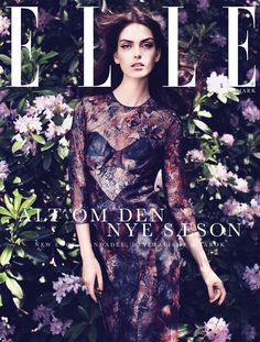 Maria Palm by Oliver Stalmans for Elle Denmark August 2012
