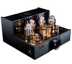 Valve Amplifier, Audio Amplifier, At Home Movie Theater, Royal Design, High End Audio, Home Cinemas, Vacuum Tube, Main Colors, Integrity