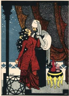 Rubaiyat of Omar Khayyam. Illustrations by Robert Stewart Sherriffs.