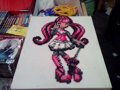 Monster High Draculaura hama beads