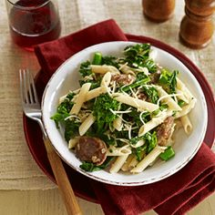 Penne with Sausage and Broccoli Rabe Recipe - Good Housekeeping