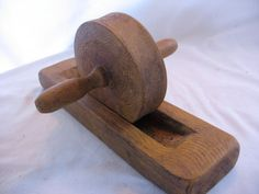 *how very cool* Primitive Herb Crusher Treenware by oakstreetbarn on Etsy