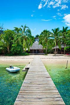 Isla Bastimentos en la provincia de Bocas del Toro.