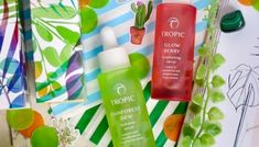 Everything I have tried from Tropic Skincare has blown me away and delivered visible results. Their entire range is vegan, cruelty free, contain the Cruelty Free, Berries, Skincare, Tropical, Let It Be, Beauty, Beleza, Skin Care, Berry