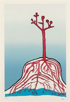 LOUISE BOURGEOIS (1911-2010)  The Ainu Tree (not in Wye