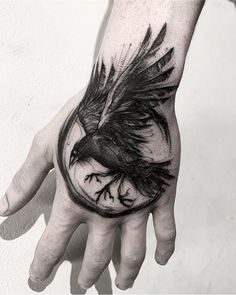 Bird Tattoo Men Ravens Crows New IdeasYou can find Ravens and more on our website.Bird Tattoo Men Ravens Crows New Ideas Tattoo Sketches, Tattoo Drawings, Body Art Tattoos, New Tattoos, Sleeve Tattoos, Skull Tattoos, Norse Tattoo, Viking Tattoos, Tattoo Symbols Men