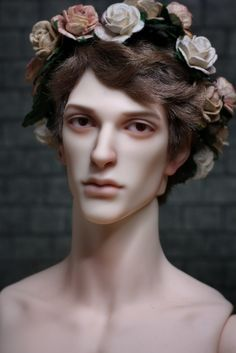 This is my fun-sized Grant Phillippe, my little ballet dancer, loosely based on Joseph Simon, but with a dash of Nijinsky thrown in. The face up and wig are by me. Related