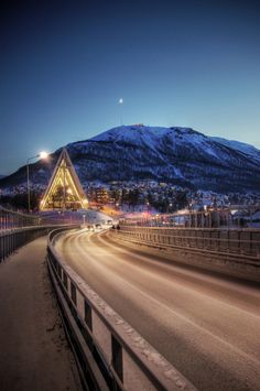 Lights in Tromso, Norway I have relatives in a fjord near here :) Tromso, Land Of Midnight Sun, Norway Viking, Beautiful Norway, Alaska, Scandinavian Countries, Arctic Circle, Lofoten, Winter Travel