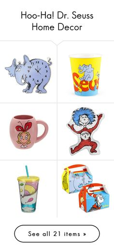 """""""Hoo-Ha! Dr. Seuss Home Decor"""" by polyvore-editorial on Polyvore"""