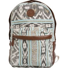 Billabong Campin Trot Backpack (430 MAD) ❤ liked on Polyvore featuring bags, backpacks, mint, rucksack bag, billabong backpack, billabong bag, mint bag and backpacks bags