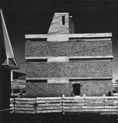 Facade Concrete Brick  Crop Research Center, University of Manitoba, Fort Garry, Manitoba, Canada, 1964