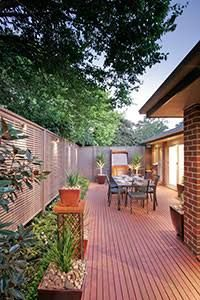 decking ideas for small courtyards google search