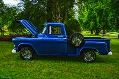 https://flic.kr/p/UPEfAU | Father's Day Old Car Sunday in the Park - 1957 Chevy Pickup | Fraser River Heritage Park Mission, BC Canada  Event Theme: FIRE IT UP!  Food trucks, vendor displays, live entertainment, beer garden. kid's activities – this is a great family event, and the perfect place to bring dad!   Image best viewed in Large screen. Thank-you for your visit! I really appreciate it!  Sonja :)