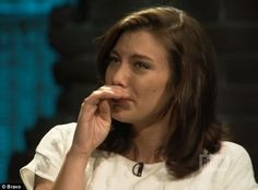 Lauren Cohan cries with The Walking Dead cast on Bravo's Inside ...