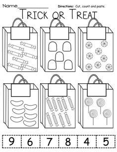 use real bags, have students sort real candy/objects and place correct amount in each bag. Have students add contents of two bags together, add.