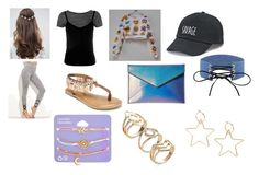 """""""MAY 2018 GWL TRIP day 1/3"""" by btsbvbnat on Polyvore featuring ASOS, Sans Souci, Penny Loves Kenny, Rebecca Minkoff, SO, claire's and love"""