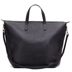 Cuyana | Oversized Carry-all Tote | Black