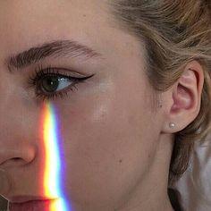 Imagen de rainbow, tumblr, and eye