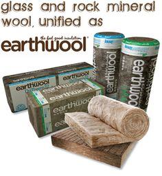 Earthwool insulation available at Deepings Building & Plumbing Supplies.