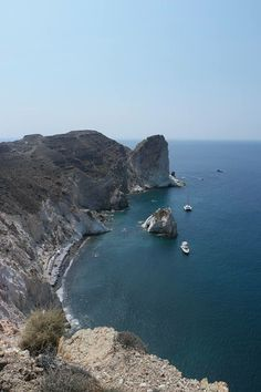 Santorini - white beach - Greece