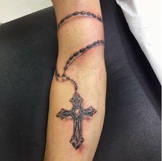 Tatuagem terço @fernandoshimizu.