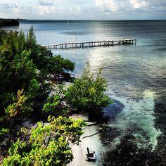 Pristine beach in Caye Caulker, Belize