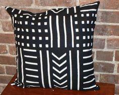 Black & White Mud Cloth Pillows