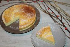 Gâteau Magique au Citron. Chez Vanda, Doughnut, Camembert Cheese, Pudding, Breakfast, Desserts, Food, Grands Parents, Biscuits