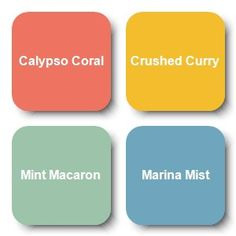 Copic-R22, Y26, G12&C2 blend, C1&B52 blend SU-Calypso Coral, Crushed Curry, Mint Macaron, Marina Mist