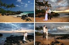 Beach wedding locations - Makena Cove