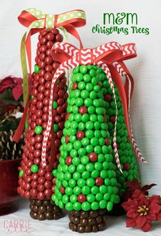 M&M Christmas Trees