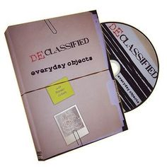 Declassified #volume 1 #(magic with #everyday objects)  - dvd,  View more on the LINK: http://www.zeppy.io/product/gb/2/351896942023/