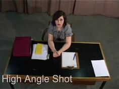 OCR Media Studies, How to Guide. Basic Camera Angles