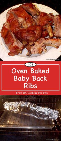 It is time for some great oven baked baby back ribs with this KISS (Keep It Simple Stupid) recipe. Welcome to the less-fussy path to rib heaven. Just clean, rub, wrap in foil and bake. Oh, so easy. Ribs Recipe Oven, Oven Baked Ribs, Rib Recipes, Oven Recipes, Cooking Recipes, Recipies, Back Ribs In Oven, Rib Sauce, Salsa Barbacoa