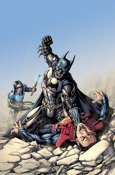Injustice: Gods Among Us: Year Five #13 - David Yardin