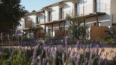 Marzua: Hotel Mas Lazuli, entre mar y montaña.